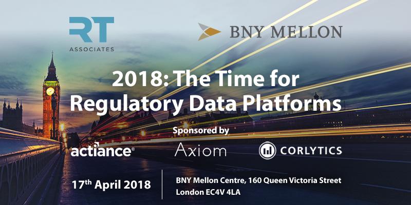 The Time for Regulatory Data Platforms – London